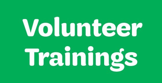 Volunteer Trainings